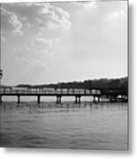 Afternoon At The Pier Metal Print