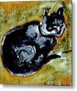 Afternoon Cat Metal Print