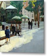 Afternoon in Bryant Park Metal Print