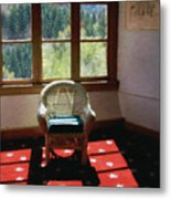 Afternoon In The Solarium Metal Print