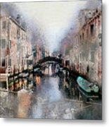 Afternoon In Venice IIi Metal Print