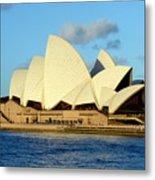 Afternoon Light On The Sydney Opera House Metal Print