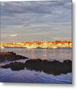 Afternoon Sun On Marblehead Neck Metal Print
