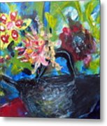 Afternoon Tea Two Metal Print