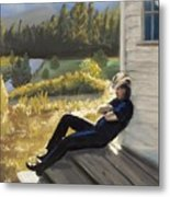 Afternoon Tranquility Metal Print