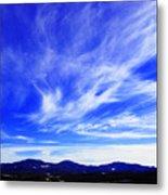 Afton Sky And Mountains I Metal Print