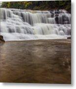 Agate Falls Metal Print