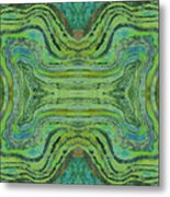 Agate Inspiration - 24 B  Metal Print