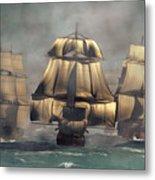 Age Of Sail Metal Print