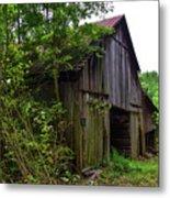 Aged Wood Barn Metal Print