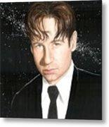 Agent Mulder Metal Print