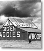 Aggie Barn #2 Metal Print