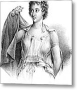 Agnodice, Ancient Greek Physician, 4th Metal Print