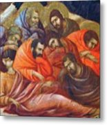 Agony In The Garden Fragment 1311 Metal Print