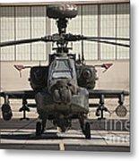 Ah-64d Apache Longbow At Pinal Airpark Metal Print