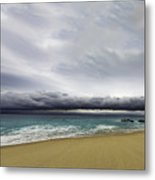 Ahead Of Sandra Metal Print