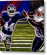 Ahmad Bradshaw Metal Print by Paul Ward