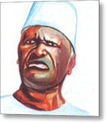 Ahmed Sekou Toure Metal Print