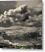 Ahuachapan Color And Infrared Metal Print