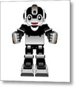 Ai Robot Metal Print