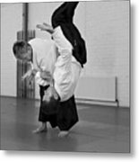 Aikido Up And Down Metal Print