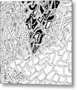 Aikya Metal Print