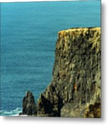 Aill Na Searrach Cliffs Of Moher Ireland Metal Print