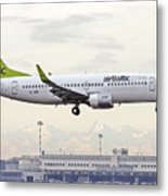 Air Baltic Boeing 737-300 Metal Print