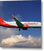 Air Berlin Boeing 737-800 Metal Print