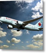 Air Canada 787 Dreamliner Metal Print