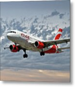 Air Canada Rouge Airbus A319 Metal Print