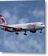 Air Canada Rouge Boeing 767-333 1 Metal Print