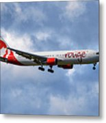 Air Canada Rouge Boeing 767-35h 118 Metal Print