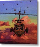 Air Cavalry Bell Uh-1 Huey  Metal Print
