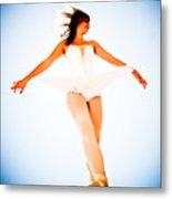 Air Dancer Metal Print