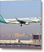 Air Dolomiti, Embraer Erj-195 Metal Print