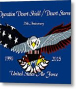 Air Force Desert Storm Metal Print