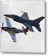 Air Force Heritage Flight Metal Print