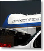 Air Force One Metal Print