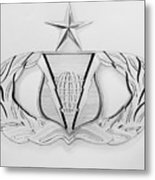 Air Force Specialty Badge Metal Print