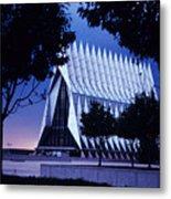 Air Force The Cadet Chapel Metal Print