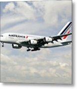 Air France A380-800 F-hpjb Metal Print