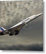Air France Concorde 116 Metal Print