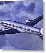 Air France Connie Metal Print