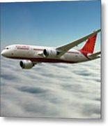Air India Boeing 787 Dreamliner N1008s  Metal Print