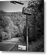 Air Mail Delivery Maine Style Metal Print