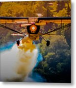Air Show Metal Print