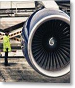 Airbus Engine Metal Print by Stelios Kleanthous