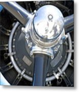 Aircraft Engine Metal Print