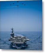 Aircraft From Carrier Air Wing Metal Print